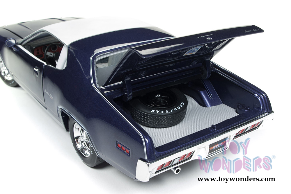 1971 Plymouth Satellite Sebring Plus Hard Top By Auto World Ertl 1