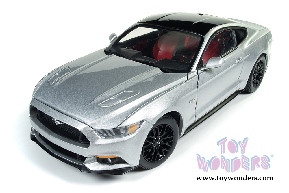 2017 ford mustang gt hard top aw237 1 18 scale auto world ertl wholesale diecast model car. Black Bedroom Furniture Sets. Home Design Ideas