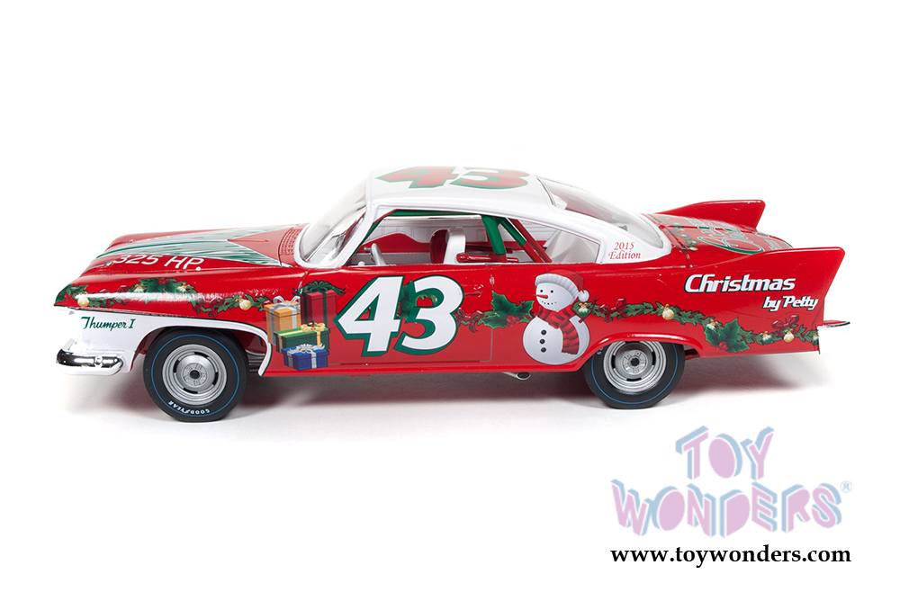 Richard Petty #43 1960 Plymouth Fury (Christmas Edition) Hard Top ...