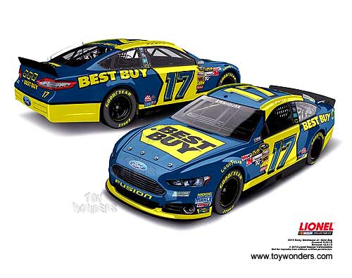 Ford Fusion Ricky Stenhouse Jr Best Buy Race Car BBRT - Best ford car to buy