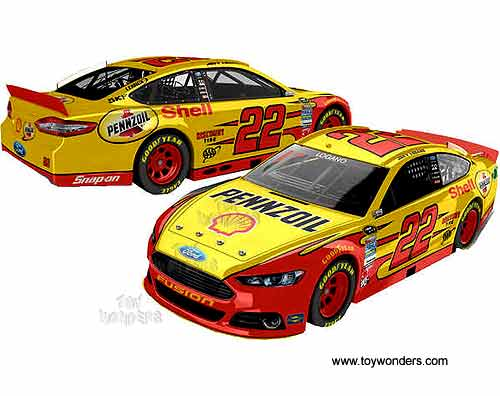 2013 Ford Fusion Joey Logano 22 Shell Race Car By Lionel Nascar