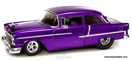 1955 Chevy Bel Air By Mattel Hot Wheels 118 Scale Diecast Model Car