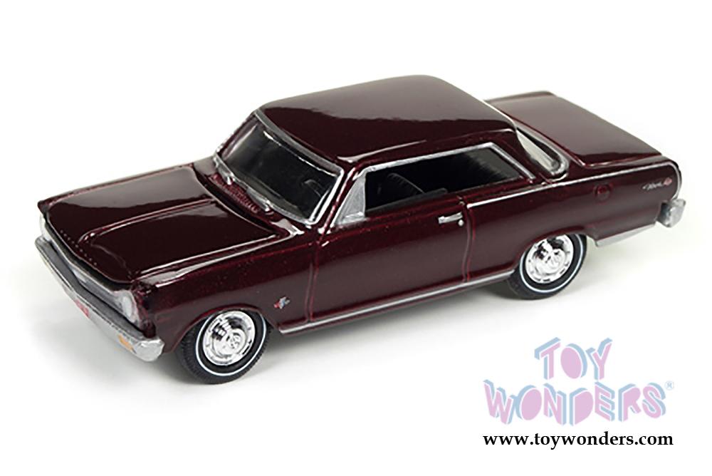 Round 2 Johnny Lightning - Muscle Cars U.S.A. | 1965 Chevy® Nova™ SS ...
