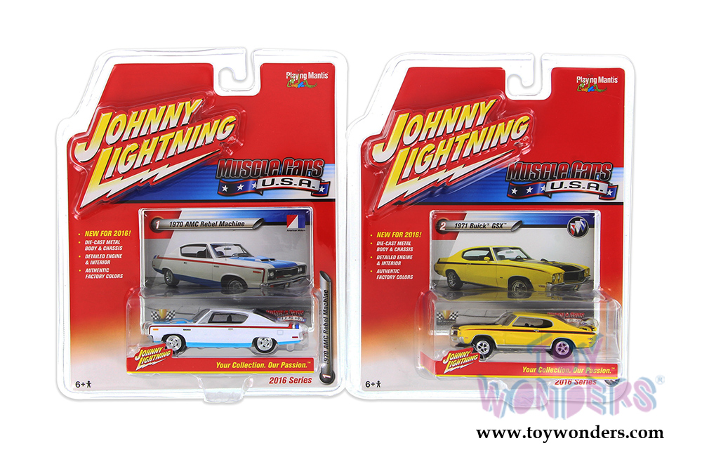 Muscle Cars Usa Release Set A Johnny Lightning Wholesale Diecast