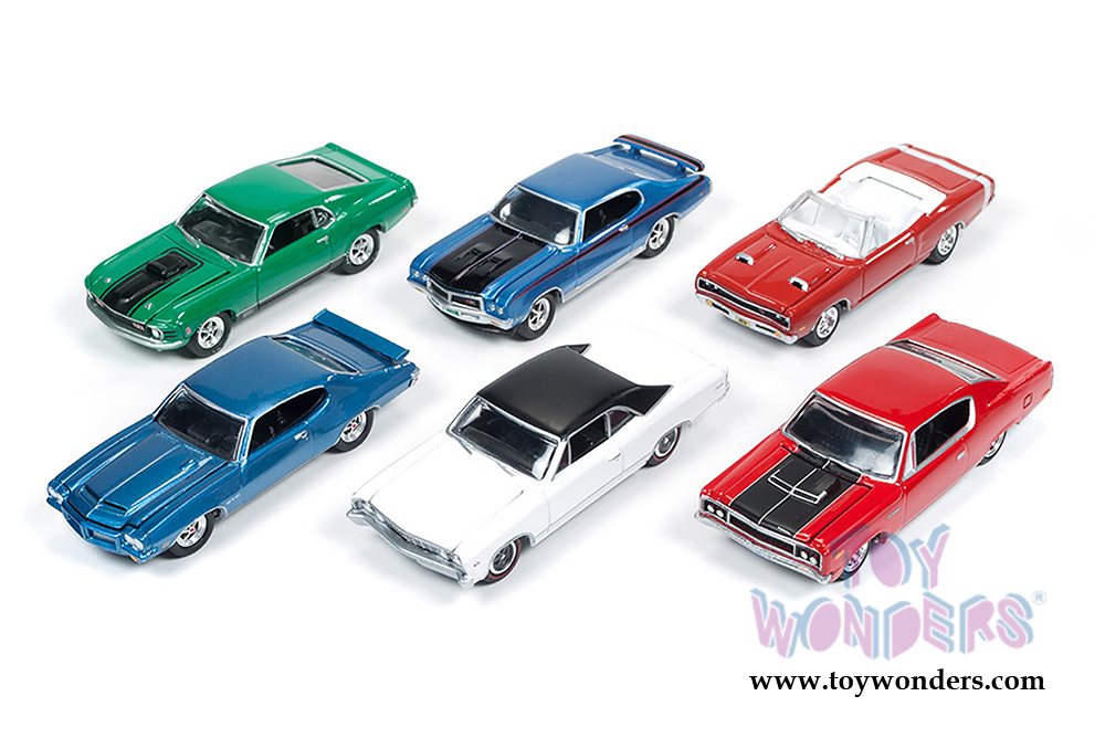 Muscle Cars USA Release 1 Set B Johnny Lightning wholesale diecast ...
