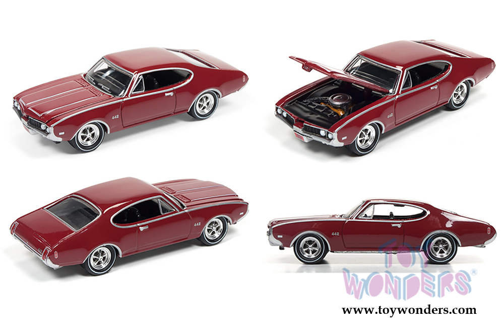 Muscle Cars USA Release 2 Set A Johnny Lightning wholesale diecast ...