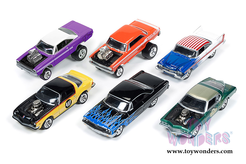 Street Freaks Release Set B Johnny Lightning Wholesale Diecast