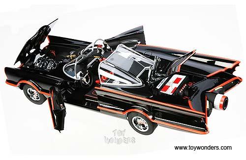 1966 Tv Toy Diecast Cars Series Elite Batmobile By Mattel Elite