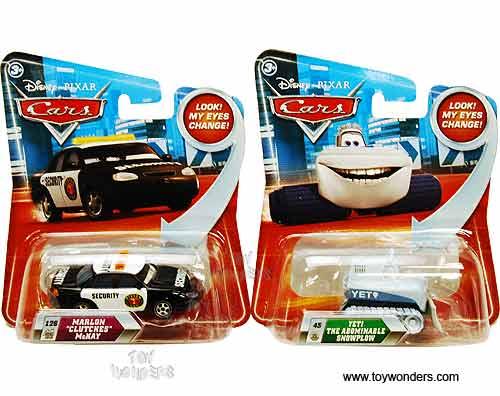 Cars W Eyes Change Toy Diecast Cars Assortment By Mattel Disney