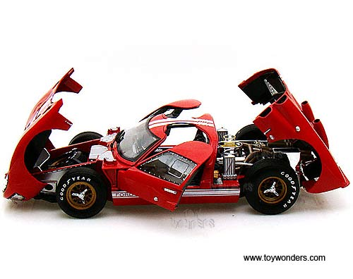 Shelby - Ford GT-40 MK II Hard Top (1966 1/18  sc 1 st  Toy Wonders & 1966 Ford GT-40 MK II Hard Top SC400R 1/18 scale Shelby wholesale ... markmcfarlin.com