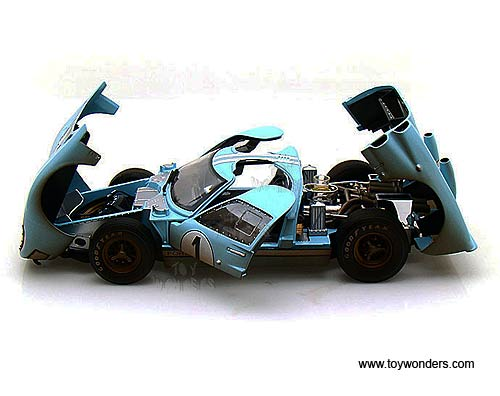 shelby ford gt 40 mk ii hard top 1 w dirt - 1966 Ford Gt40 Gulf