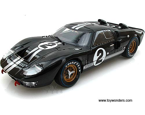 Shelby - Ford GT-40 MK II Hard Top #2 (1966 1  sc 1 st  Toy Wonders & 1966 Ford GT-40 MK II Hard Top #2 SC408BK 1/18 scale Shelby ... markmcfarlin.com