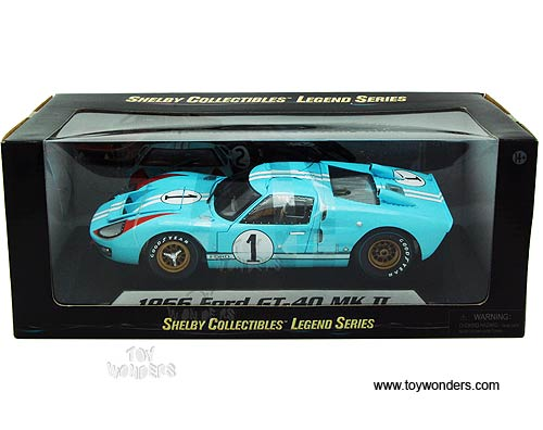 shelby ford gt 40 mk ii hard top 1 1966 1 - 1966 Ford Gt40 Gulf