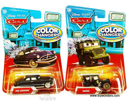 Cars Color Changers: Cars Color Changers Toy Diecast Cars Assortment C By