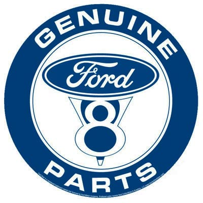 Genuine Ford Parts >> Tin Sign Ford Genuine Parts Fd11