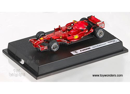 Mattel Hot Wheels Racing - Ferrari F2008 Formula F1 Kimi Raikkonen (1:43,