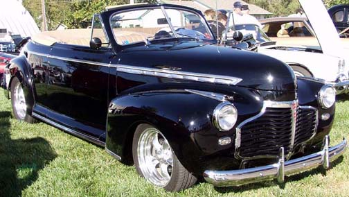 1941 Chevrolet Special Deluxe Convertible Diecast