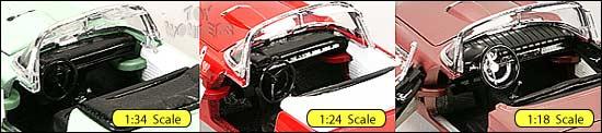 diecast ford thunderbird interior