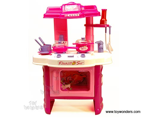 Kitchen play set w lights sounds 24 h 008 26 for Kitchen set 008 82