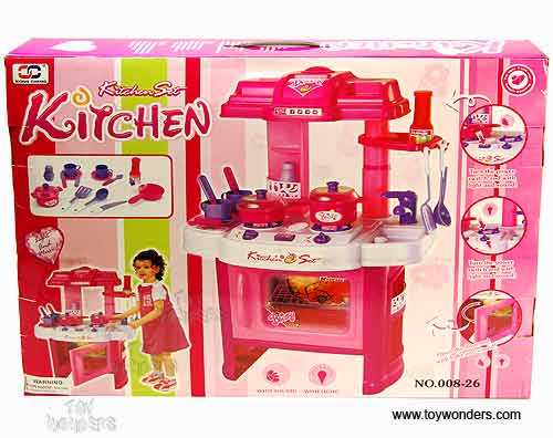 Kitchen playset for kids with lights and sound for Kitchen set 008 82