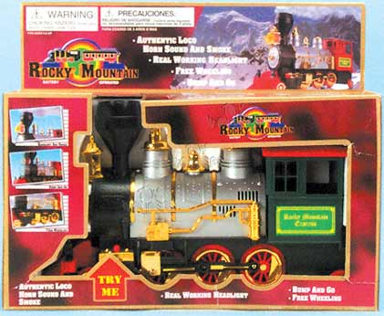 Rocky Mountain Loco Trains W Ic Sound Smokes Light 06386 1