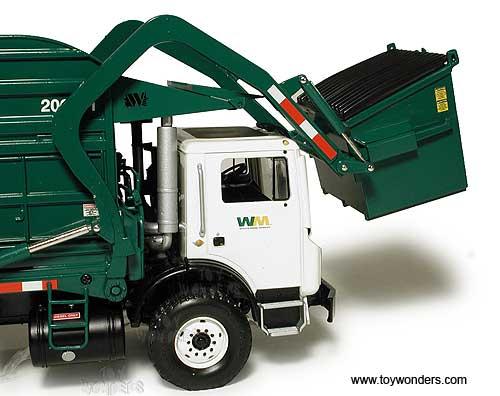 Mack Terrapro Front Load Refuse Truck W Bin 10 4001 1 34