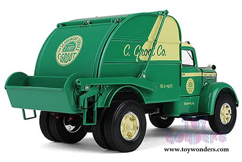 Mack C Model Trucks : Mack l vintage garbage truck  scale first gear