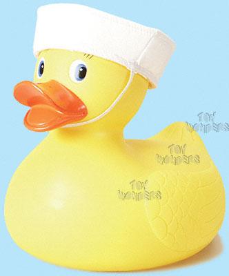 10 Quot Rubber Duck W Sailor Hat