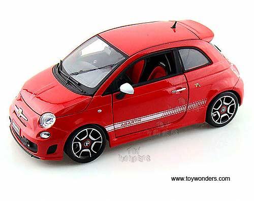 2008 Fiat 500 Abarth Hard Top 11028r 1 18 Scale Bburago