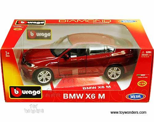 Bmw X6 M Hard Top 11032r 1 18 Scale Bburago Diamond