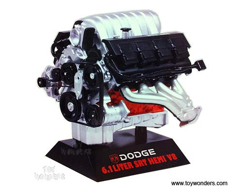 Wholesale Car Parts >> Dodge 6.1 Liter SRT Hemi V8 Engine 11070 1/6 scale Hawk ...