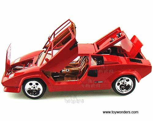 Bburago Lamborghini Countach 5000 Quattrovalvole Hard
