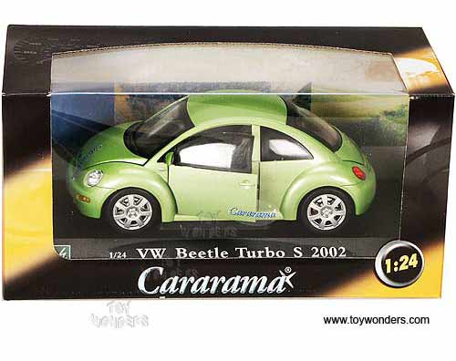 2002 volkswagen Beetle Turbo S Hard Top by Cararama 1/24 scale diecast model car wholesale 125-021