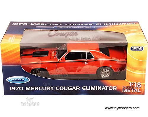 Welly Premium - Mercury Cougar Eliminator Hard Top (1970, 1:18,