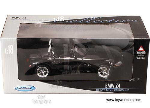Bmw Z4 Convertible By Welly 1 18 Scale Diecast Model Car