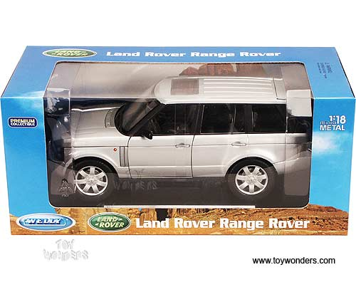 2003 Land Rover Range Rover. Welly - Land Rover Range Rover