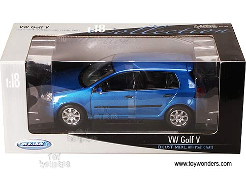 Volkswagen Golf V By Welly 1 18 Scale Diecast Model Car