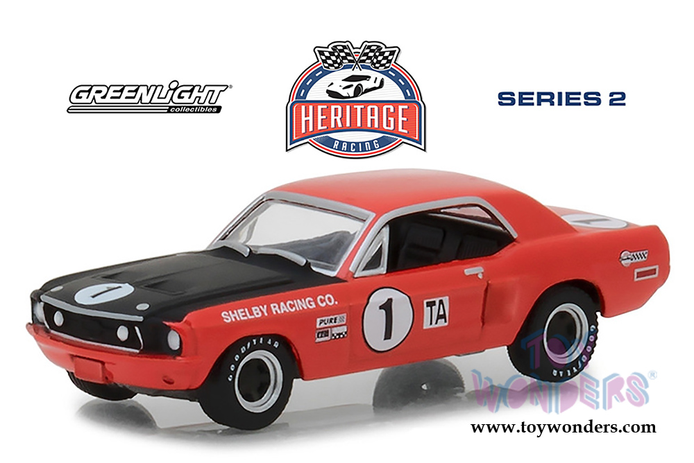 Greenlight Ford Gt Racing Heritage Series  Ford Mustang Shelby Ta