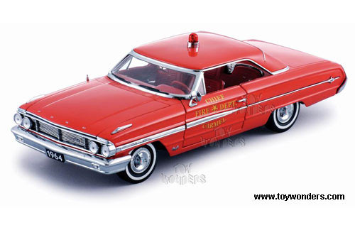 Sun Star USA - Ford Galaxie 500 Chief Fire Department (1964, 1:18, Red) 1448
