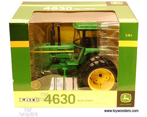 4630 farm tractor by rc2 ertl john deere 1 16 scale. Black Bedroom Furniture Sets. Home Design Ideas