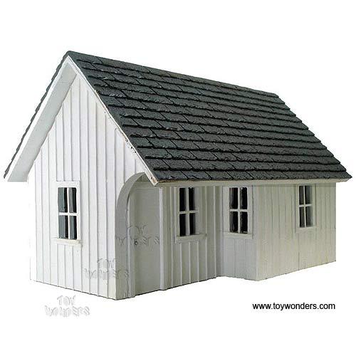 american diorama buildings white station building 1 24. Black Bedroom Furniture Sets. Home Design Ideas