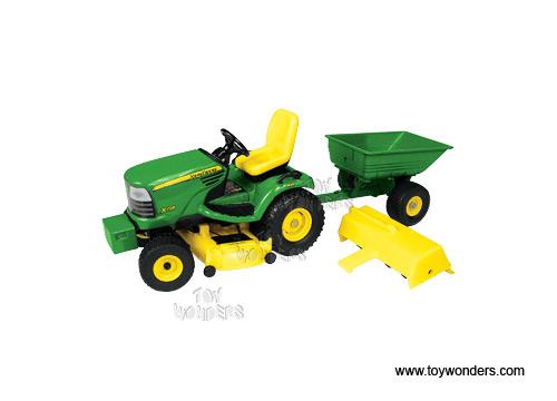 RC2 ERTL John Deere X728 Garden Tractor w Cart Tiller 116