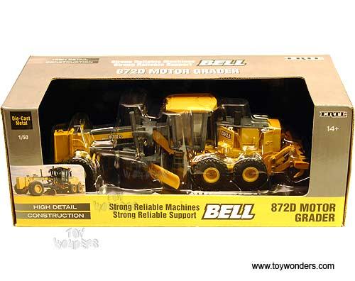 Rc2 Ertl Bell 872d Motor Grader Farm Tractor 1 50
