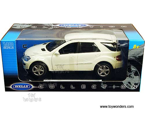mercedes benz ML350 SUV by Welly 1/18 scale diecast model ...