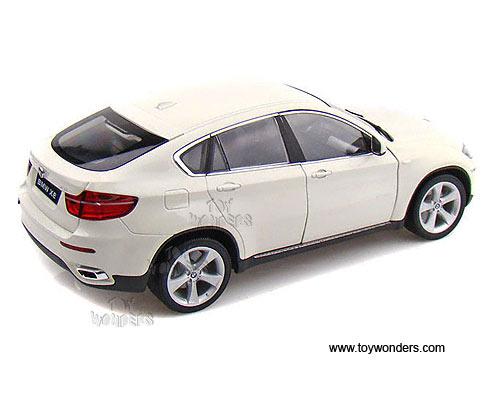 Welly Bmw X6 Hard Top 1 18 Scale Diecast Model Car