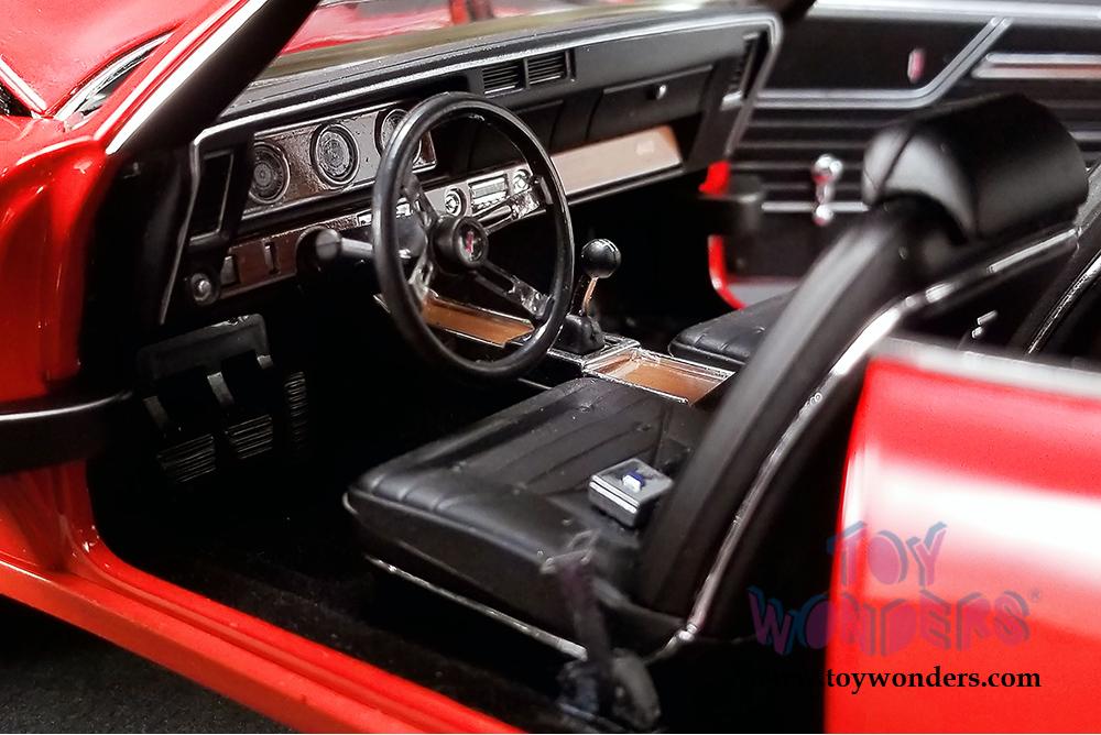 Acme - Oldsmobile® 442 W-30 Hardtop (1970, 1/18 scale diecast model car,  Matador Red) 1805608