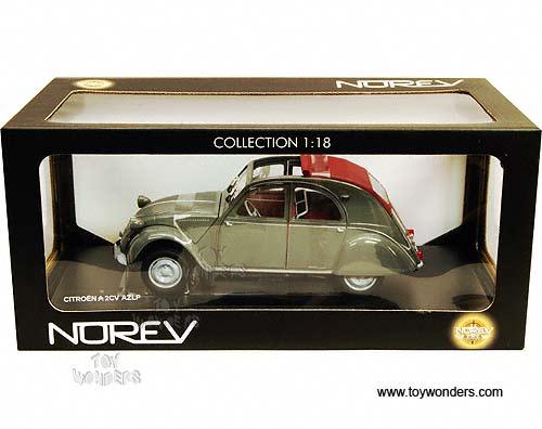 citroen 2cv azlp by norev 1 18 scale diecast model car wholesale 181509. Black Bedroom Furniture Sets. Home Design Ideas