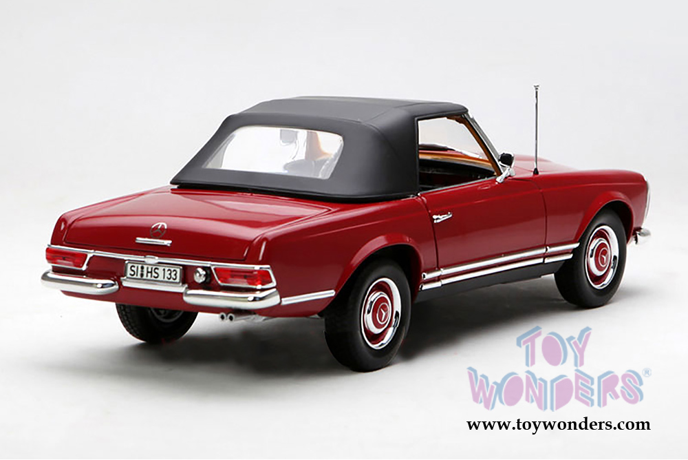 1969 mercedes benz 280 sl convertible 183520 1 18 scale for Diecast mercedes benz
