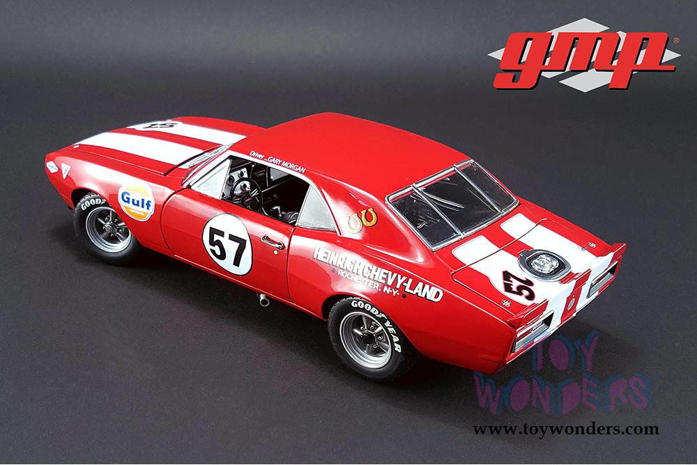 1967 CHEVROLET CAMARO Z//28 #57 HEINRICH CHEVY-LAND LTD ED 750PCS 1//18 GMP 18843