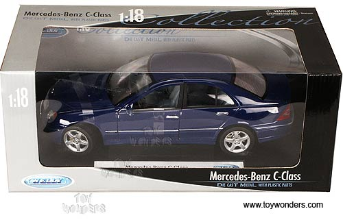 Mercedes Benz C Class Hard Top By Welly 1 18 Scale Diecast